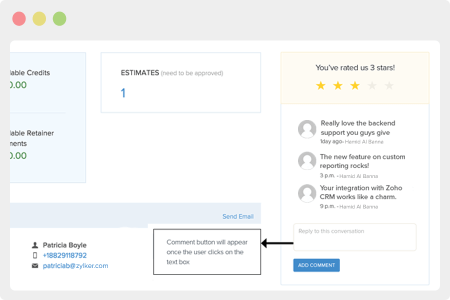 Ask for feedback with the new customer review functionality.