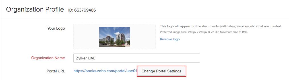 Setup client portal