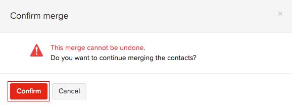 Confirm Merge