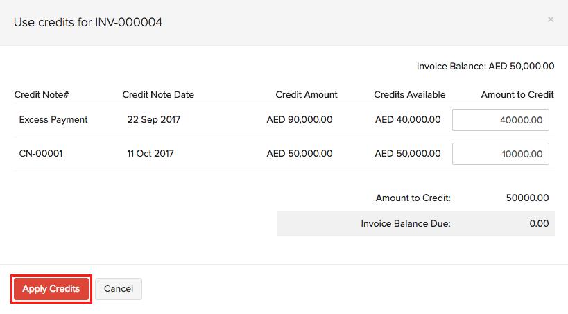 Select invoice