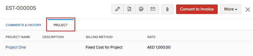 Associate Project