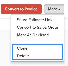 Clone Estimates