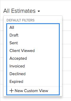 Filter Estimates