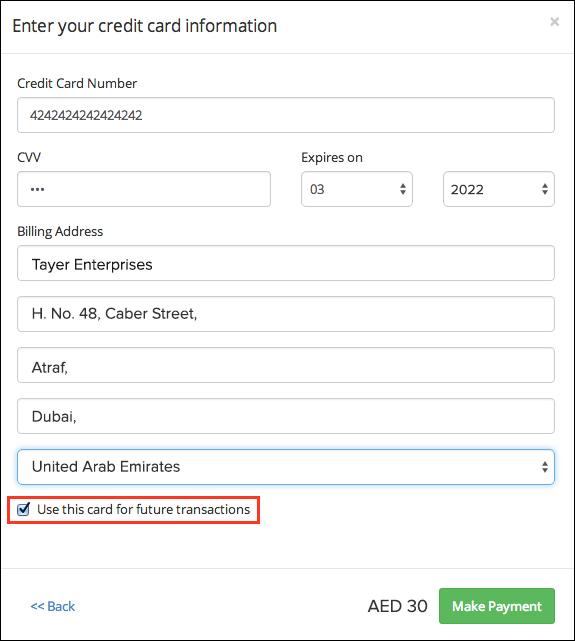 Client Portal Card