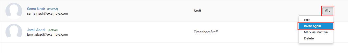 Change User Status