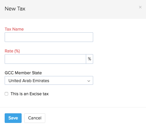 New tax pop-up