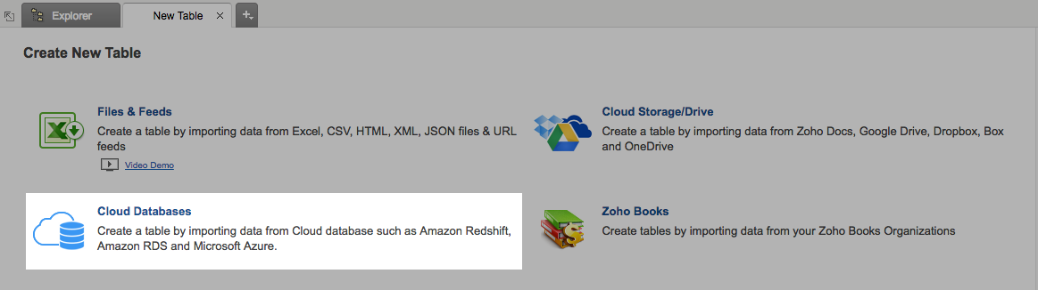 Import data from Amazon RDS: PostgreSQL