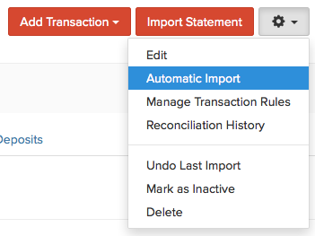 Automatic Import