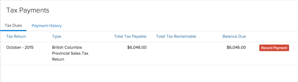 Record Payment 2