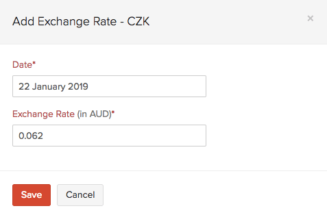 Add Exchange Rate Feeds