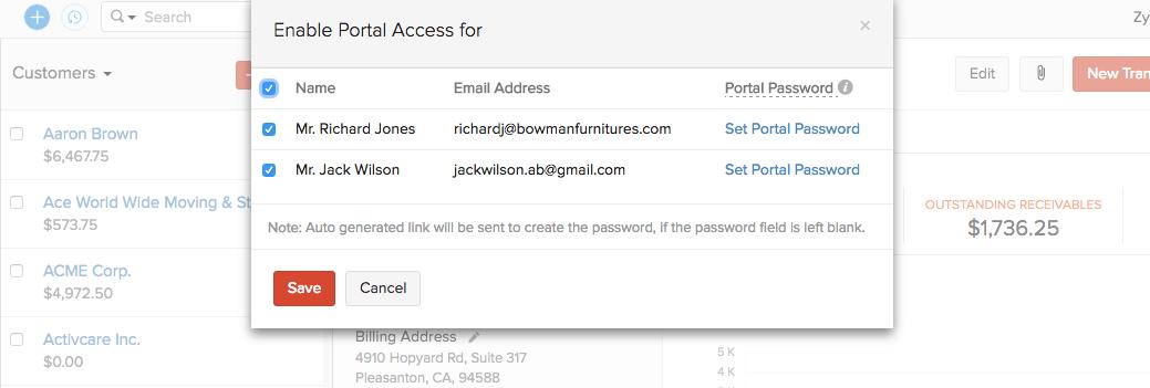 Bulk set password