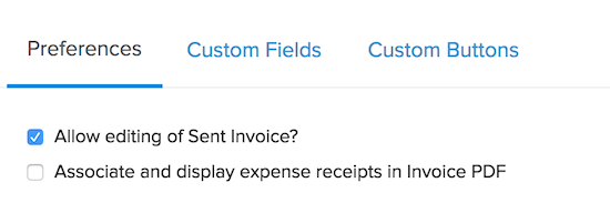 Invoice Preferences Add Custom Fields Configure Invoice And - General invoice pdf