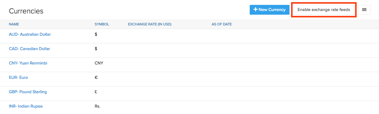 Fetch Exchange Rates Automatically