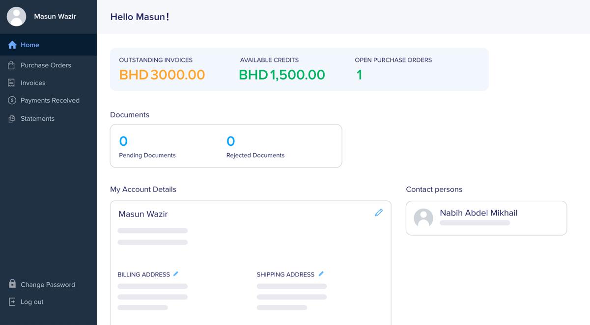 Provide Self Service Portal for Vendors   Zoho Books