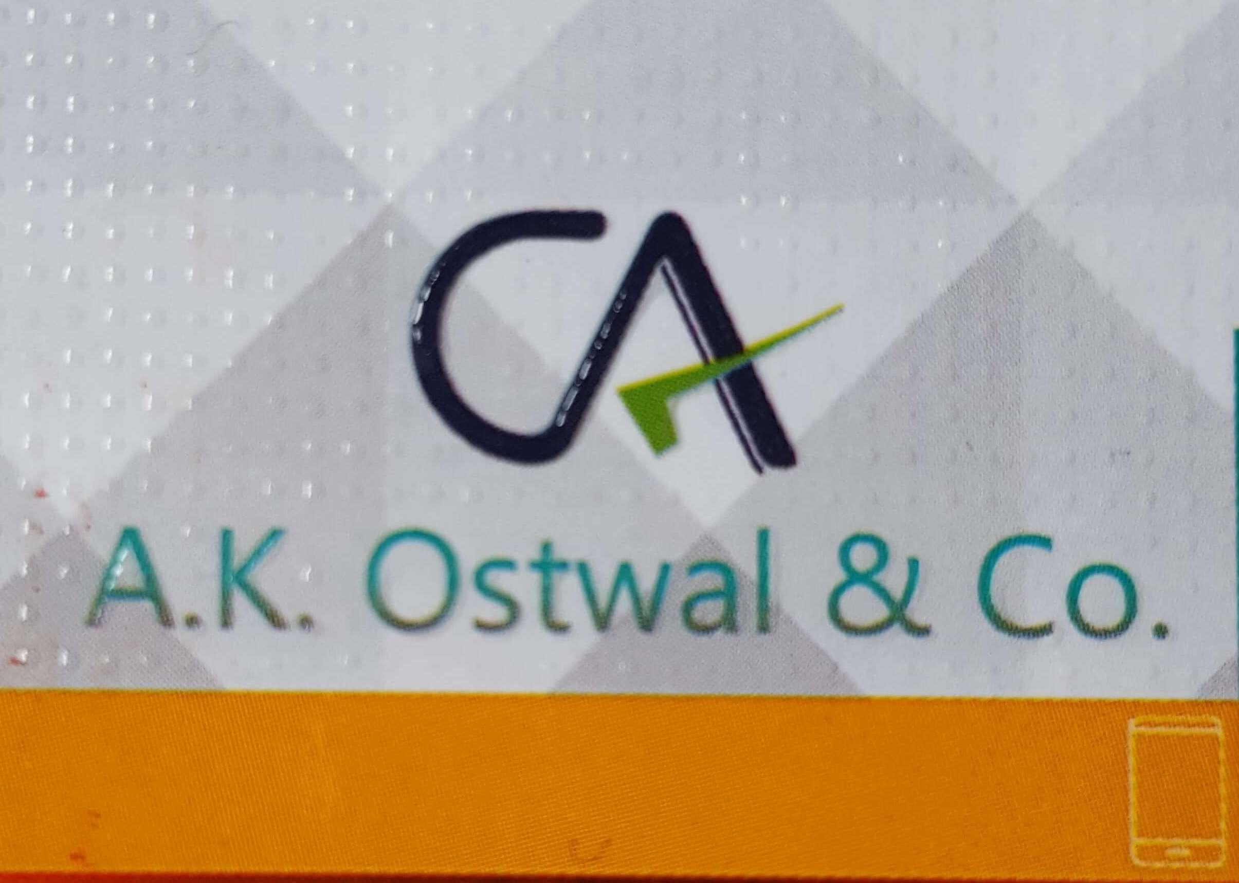 A K OSTWAL & CO