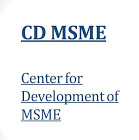 CENTRE FOR DEVELOPMENT OF MSME