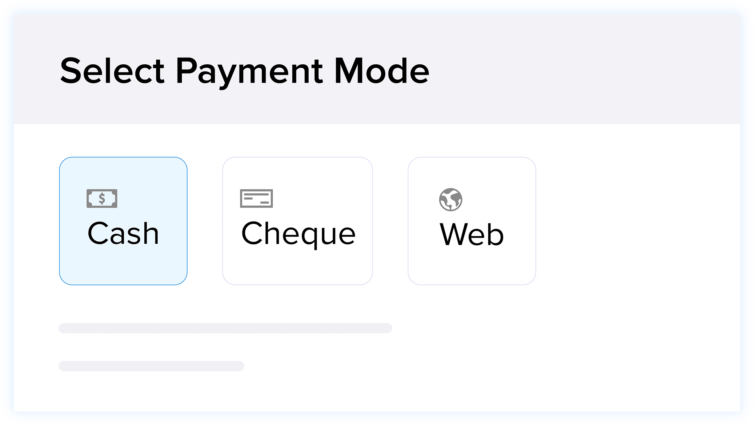 Payments - Payment Methods - Invoice Management | Zoho Books