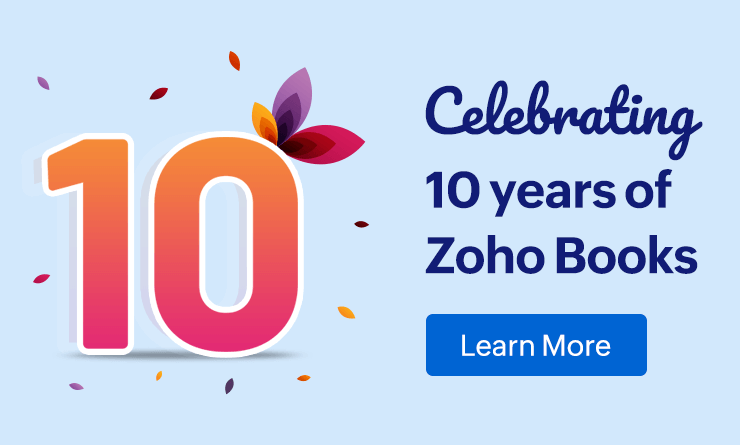 10 years of Online accounting | Zoho Books
