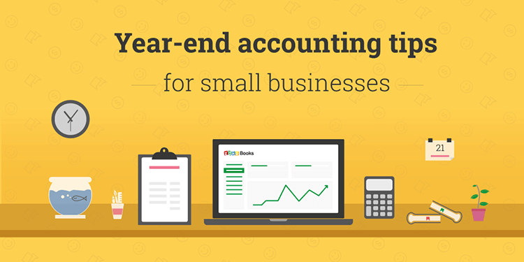 Year end accounting - Zoho Books
