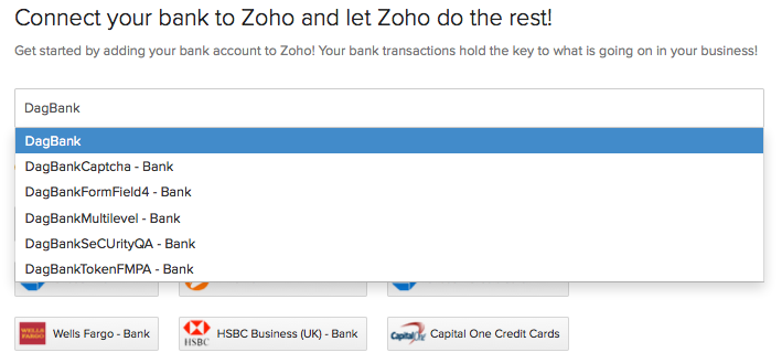 Add a Bank Account or Credit Card Account | Help | Zoho Books