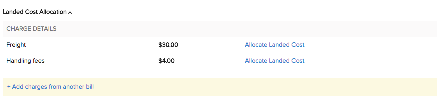 Allocate Landed Costs-2