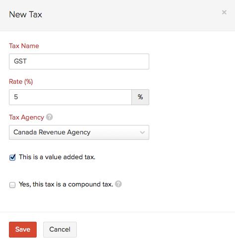 New Canada Tax