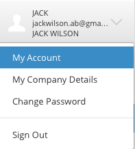 Client's account details