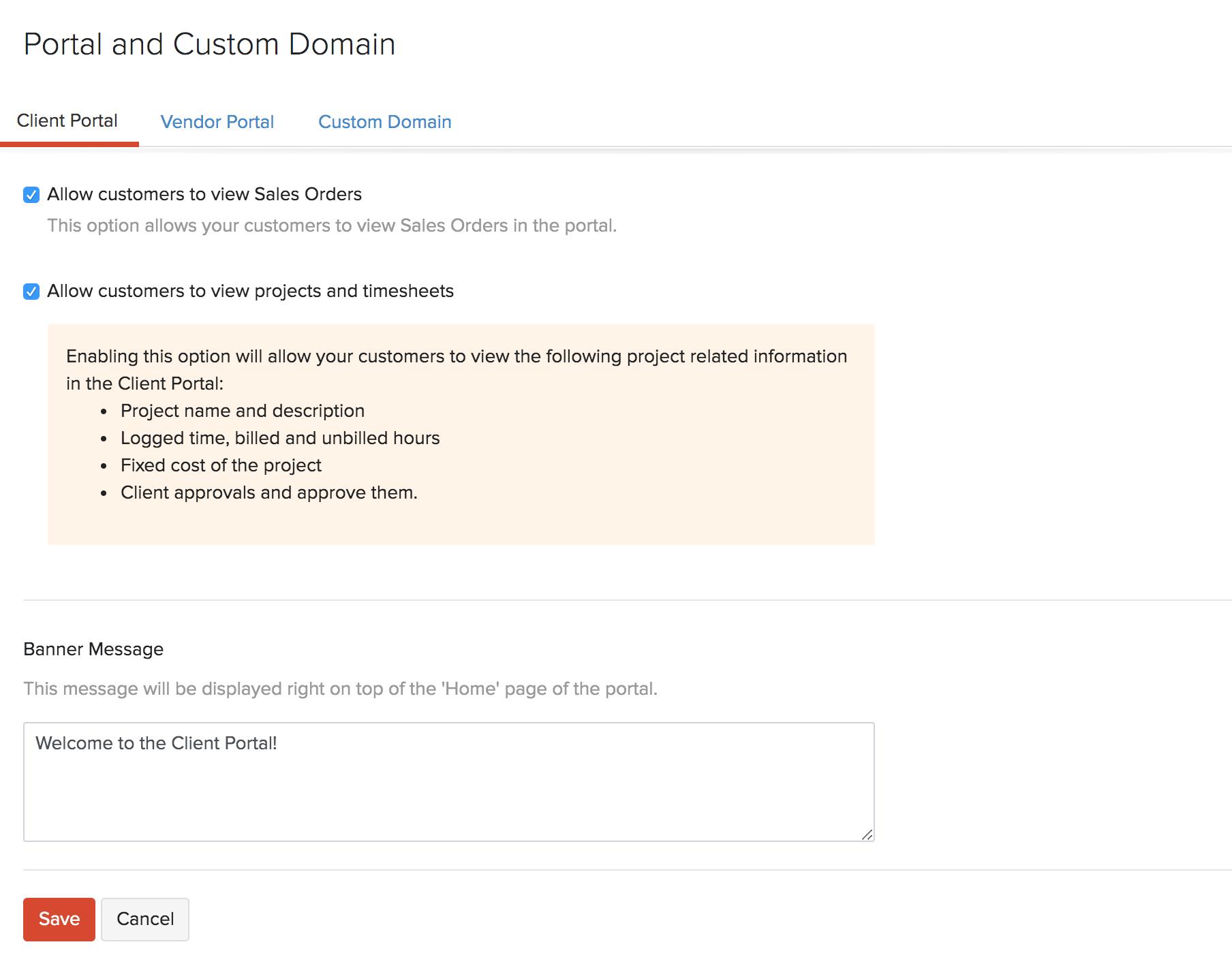 Portal Preference