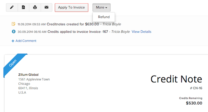 Homewouldcom  Mesmerizing Credit Note  User Guide  Zoho Books With Lovable Applying Credits To Invoice With Cute Zoho Invoice Api Also Invoice Types In Addition Transportation Invoice And Wave Invoicing Review As Well As Pay The Invoice Additionally Invoice Past Due From Zohocom With Homewouldcom  Lovable Credit Note  User Guide  Zoho Books With Cute Applying Credits To Invoice And Mesmerizing Zoho Invoice Api Also Invoice Types In Addition Transportation Invoice From Zohocom