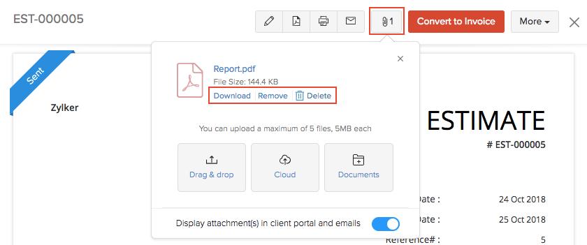 Attach Files