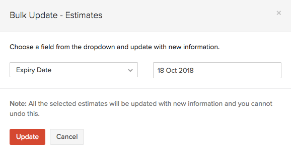 Bulk Update