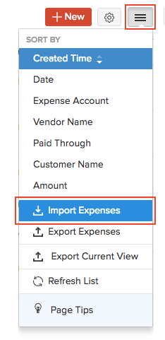 Import Recurring Invoices