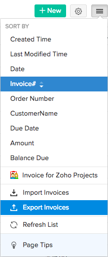 export-invoices