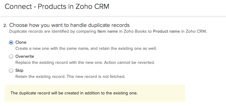 Handling Duplicate Records