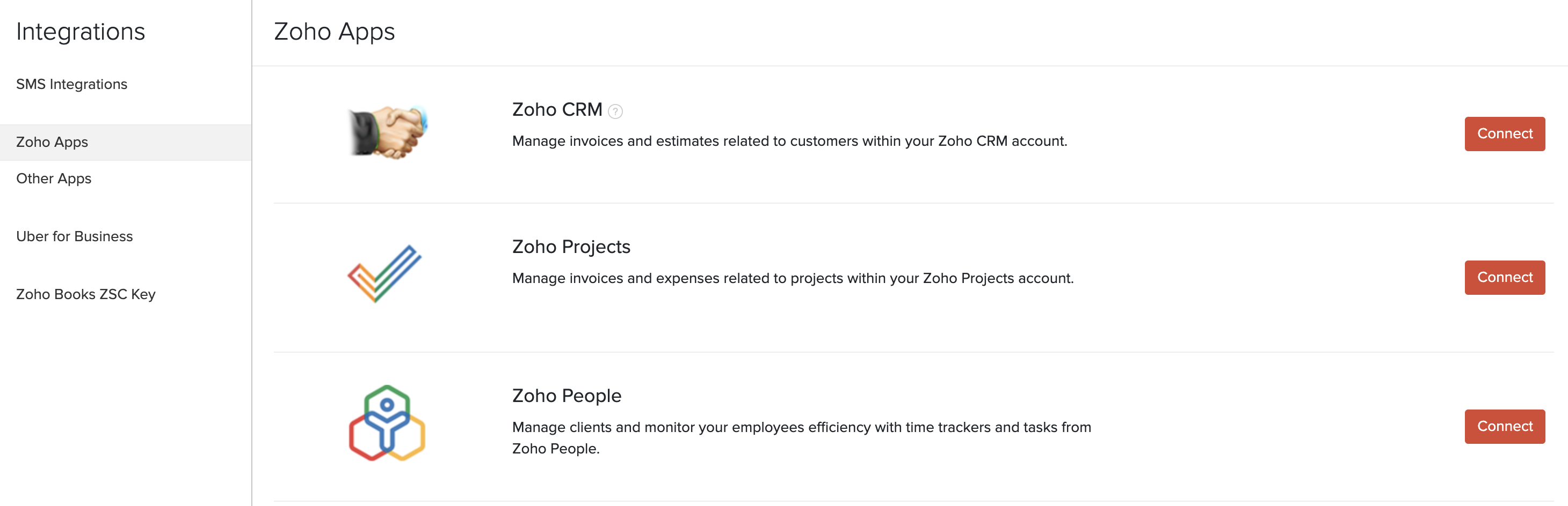 Zoho People Integration