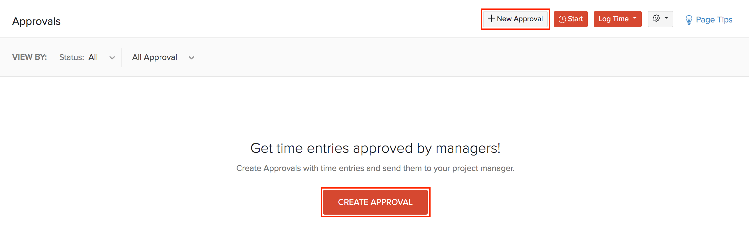 Create Approval