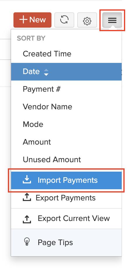 Import PR