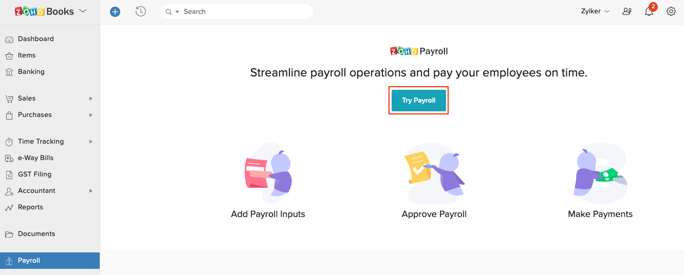 Try Payroll