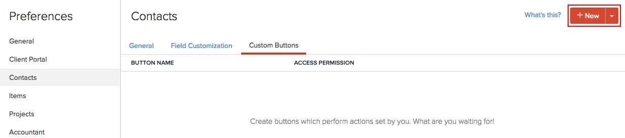 New Custom Button