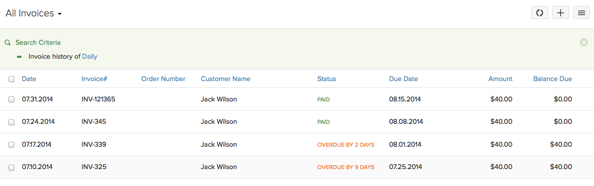 Other Actions For Recurring Invoice Help Zoho Books - What is recurring invoice for service business