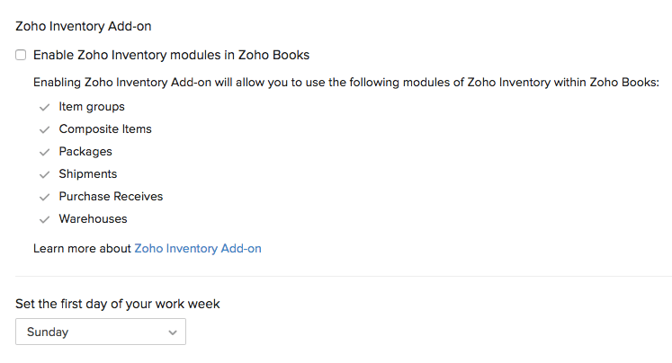Inventory Addon