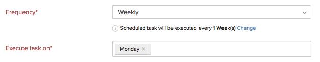 Execute Weekly