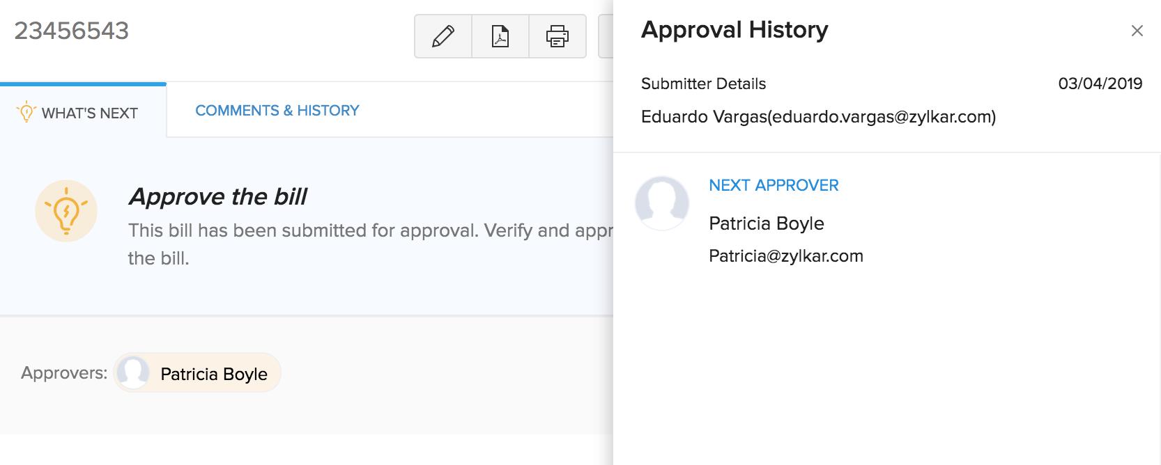 Transaction Approval