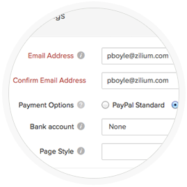 Online payment options for nonprofits