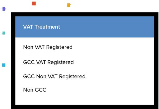 VAT Treatments