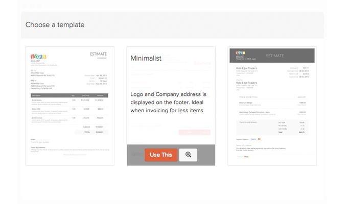 Customize your invoices