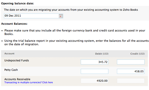 how to change opening balance in quickbooks
