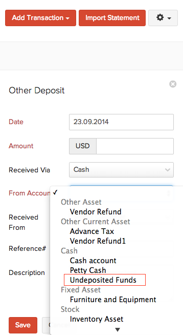 Match deposits with customer payments
