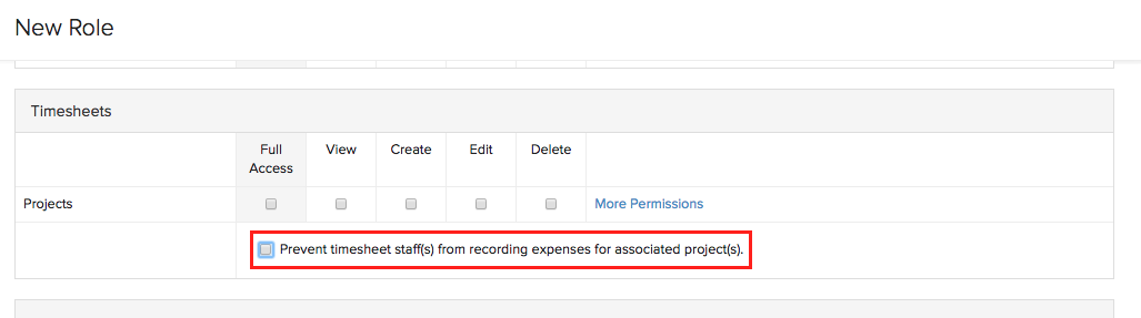 User adding expense
