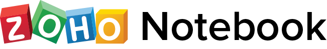 zoho notebook logo